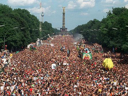fotos love parade: